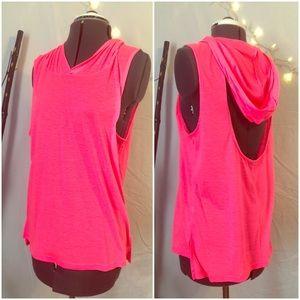 Material Girl! JUNIORS Neon Pink Active Wear Top!